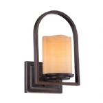 Aldora Bronze Wall Light QZ/ALDORA1