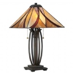 Asheville Bronze Table Lamp QZ/ASHEVILLE/TL