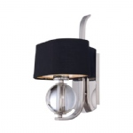 QZ/GOTHAM1 Gotham Imperial Silver Wall Light