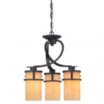 Kyle 3 Light Multi-Arm Pendant QZ/KYLE3