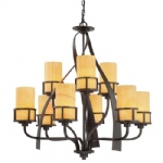 Kyle 9 Light Multi-Arm Pendant QZ/KYLE9