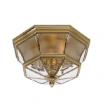Newbury Flush Bathroom Ceiling Light QZ/NEWBURY/F