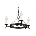 Rectory Ceiling Light RY3 Black