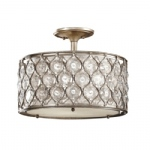 Lucia Crystal Semi Flush Light FE/LUCIA/SF