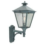 Turin Verdigris Outdoor Wall Light T1 Verdi