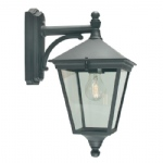 Turin Black Wall Light T2 Black