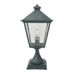 Turin Outdoor Post Light T3 Black
