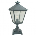 Verdigris Turin Outdoor Post Light T3 Verdi