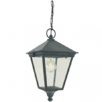 Turin Outdoor Lantern T8 Black