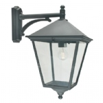 Turin Black Grande Wall Light TG2 Black