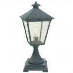 Verdigris Turin Grande Outdoor Post Light TG3 Verdi