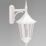 Valencia White outdoor Lantern V2 White