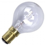 Golf Ball SBC 25w B15 Clear Bulb