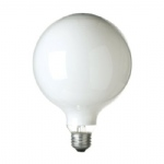 Decor Bulb 100W ES Opal 95mm