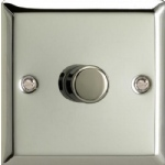 V-Pro Polished Chrome Low Load Rotary Dimmer switch JCP401