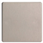 Brushed Steel Blanking Plate XDSSBS