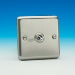 Matt Chrome Toggle Switch XST1