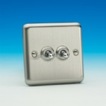 Matt Chrome Toggle Switch XST2