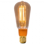 LED 150mm Vintage Squirrel Cage Lamp 01469