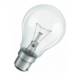 GLS BC 75 watt B22 Clear Light Bulb