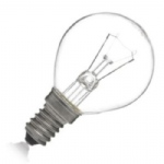 40w SES E14 Clear Golf Ball Lamp 01771