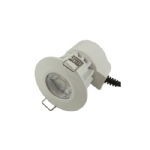 Bell Fire Rated LED White/Satin chrome Integrated Downlight 08187