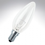 00061 Candle Lamp 40w SES E14 Clear