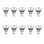 GU10 35w Halogen Lamp (Bulb) 10 Pack