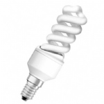 9w SES E14 Mini Spiral Low Energy 04997