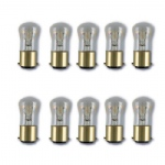 Pack Of 10 25w BC Clear Pygmy Bulbs