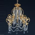 Bell Gold Plated Crystal Pendant Light ST00241/30/01/G