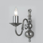 Flemish Style Pewter Wall Light BF00350/01/WB/PW