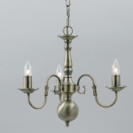 Flemish Style Chandelier BF00350/3/AB