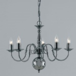 Flemish Style Chandelier BF00350/5/GM