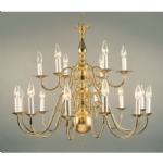 Chandelier Polished Brass BF19350/18
