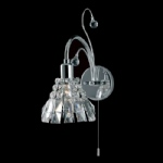 Strasbourg Crystal Wall Light CE00031/1WB