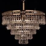 Dian Crystal Ceiling Pendant CF311221/6+1/AB