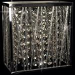CFH310221/01/WB/CH Melenki Crystal Wall Light