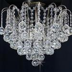 Emmie Semi Flush Crystal Ceiling Light CFH401091/05/SF/AB