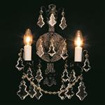 Montmartre Crystal Wall Light CP00669/02/WB/ABR