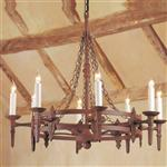 Baronial 8 Light Pendant Light SMRR00138/A
