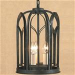Villa 3 Light Ceiling Lantern