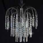 Shower Crystal & Antique Nickel Pendant ST01700/35/01/AN