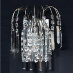 Shower Antique Nickel Crystal Single Wall Light ST01700/WB/AN