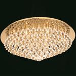 Parma Crystal Flush Ceiling Light CFH011025/12/G