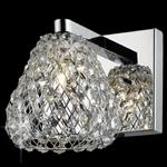 Simone Crystal Wall Light CFH501131/01/WB/CH