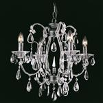 Chandelier CO03339/4 S Crystal Beaded