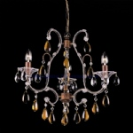 Amber Versailles Crystal Chandelier CO03339/3/R