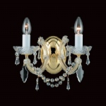 Marie Theresa Crystal Wall Light CP00150/02/WB/G