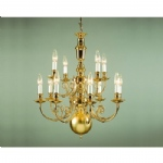 Beveren Cast Brass Chandelier BF19700/12
